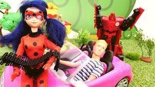 Леди Баг и Супер Кот спасают свидание. Видео для девочек.