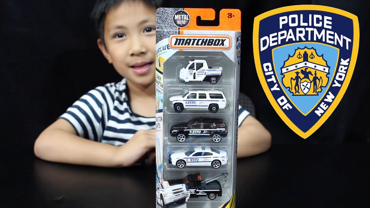 Toy Cars Toys R Us Matchbox Nypd Police Rescue Vehicles 5 Pack Toy Car