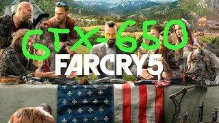 Far Cry 5 GTX 650-1GB