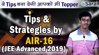JEE Advanced Topper (AIR 16) - Paarth Jain | Tips & Preparation Strategies to Score like a Topper