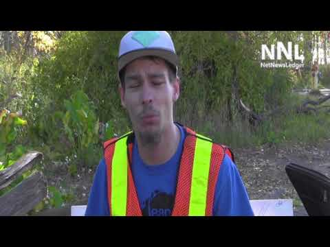 StandUp4CleanUp   Josh Hewitt cleaning up Thunder Bay