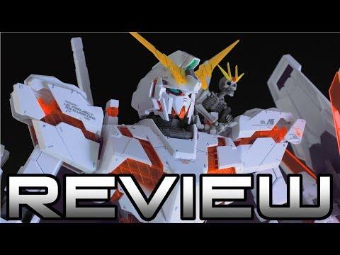 MEGA SIZE Unicorn Gundam Review MOBILE SUIT GUNDAM UNICORN  MEGA SIZE ユニコーンガンダム