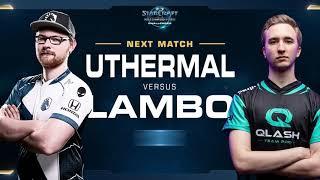 uThermal vs Lambo TvZ - Quarterfinals - WCS Challenger EU Season 2