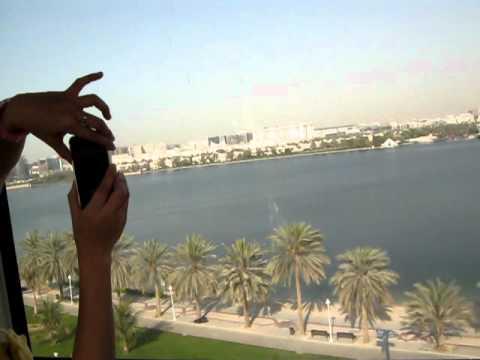 THE  DUBAI CABLE CAR AT CREEK PARK DUBAI UAE