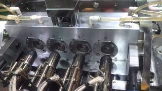 cosmetic tube injection machine