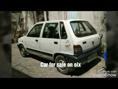 maruti 800 car sale on olx | it is in good condition | - YouTube