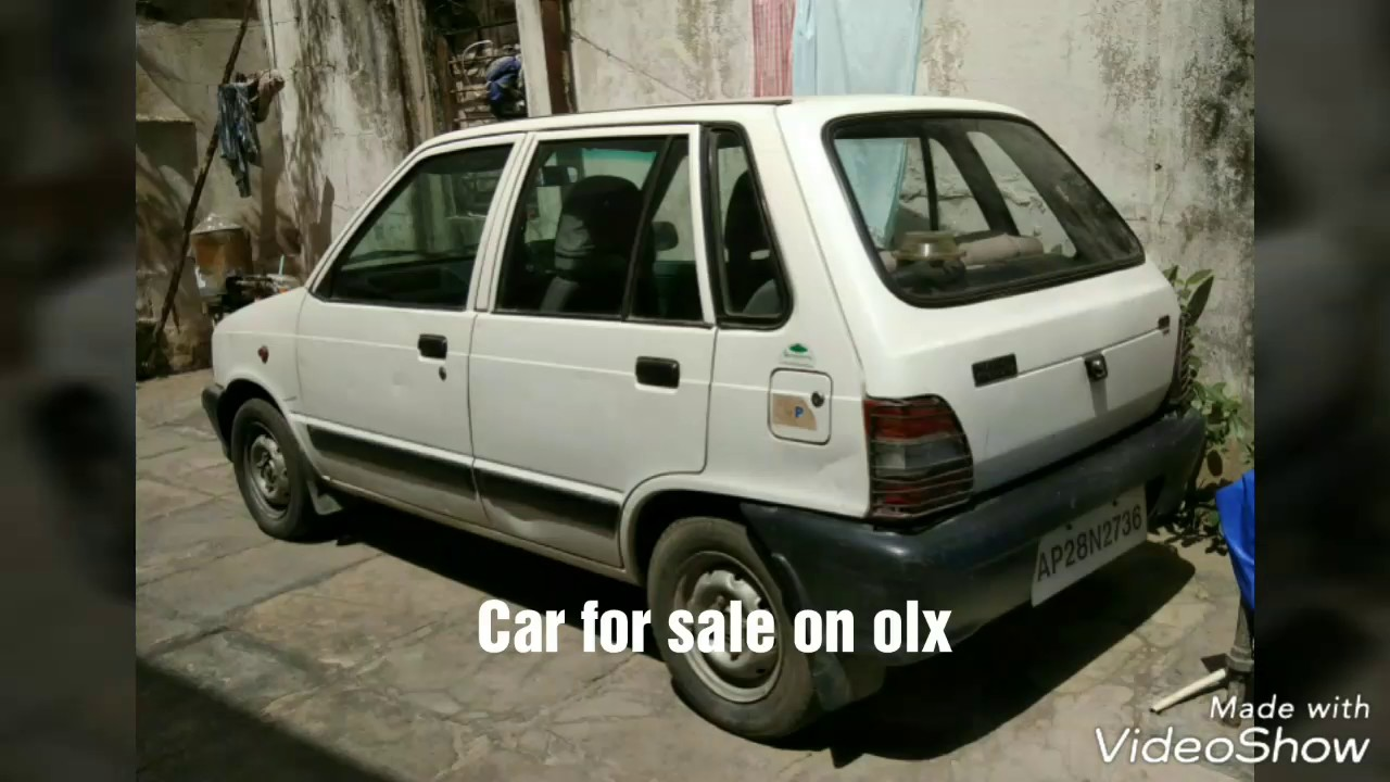 Maruti 800 Car Sale On Olx It Is In Good Condition Youtube