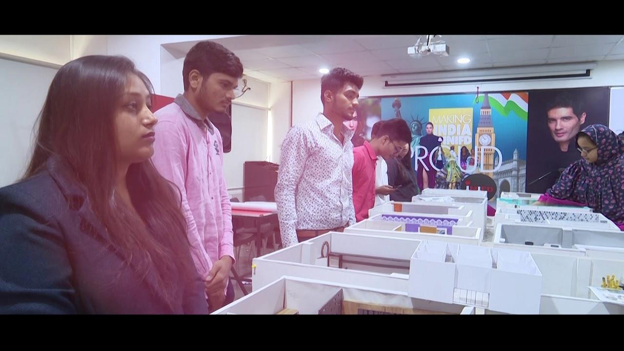 Inifd Baroda Interior Students Working Youtube