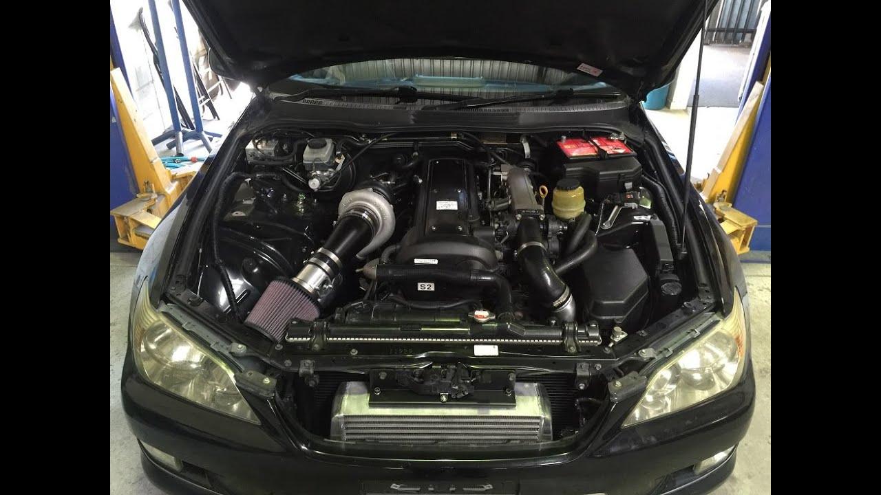 1jzgte Vvti Is200 Big T04z Turbo Acceleration