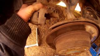 Как подтянуть (починить) ручник. ремонт ручного тормоза.(, 2015-04-23T07:18:09.000Z)