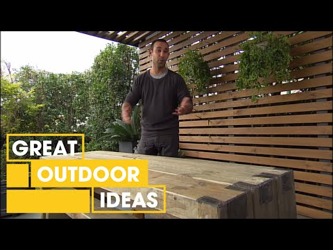 Make Your Own Custom Fit Furniture | Outdoor | Great Home Ideas
