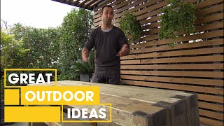 DIY: Adam creates some custom fit furniture