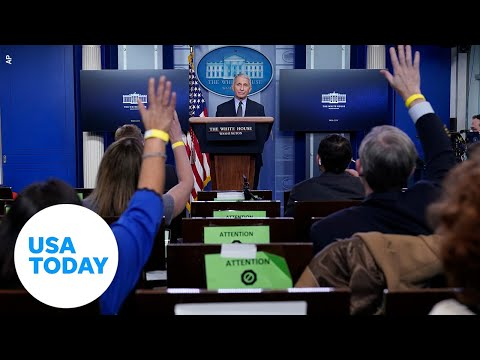 White House COVID-19 Response Team holds press briefing   USA TODAY