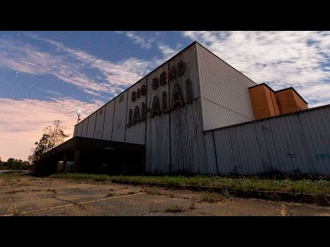 Abandoned Jai Alai Stadium Exploration - Bat Infested!