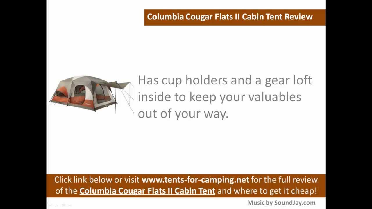 Columbia Cougar Flats II Cabin Tent Review  sc 1 st  YouTube & Columbia Cougar Flats II Cabin Tent Review - YouTube