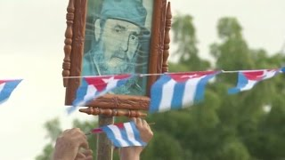 Fidel Castro's final goodbye