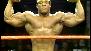 Tony Atlas: 3x Mr. USA, 600lb Bench, First Black Tag Team Champion