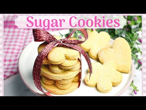 Perfect Sugar Cookies | No-Chill Dough | Best Cut-Out Cookie Recipe