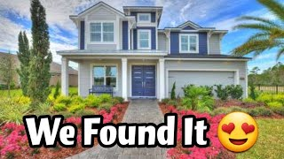 We found our DREAM home!!! Model Home Tour! House hunting