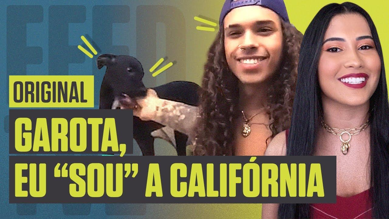 """Vitão fala do lançamento de """"Califórnia"""" e apresenta a musa absoluta do clipe   Feed TVZ"""