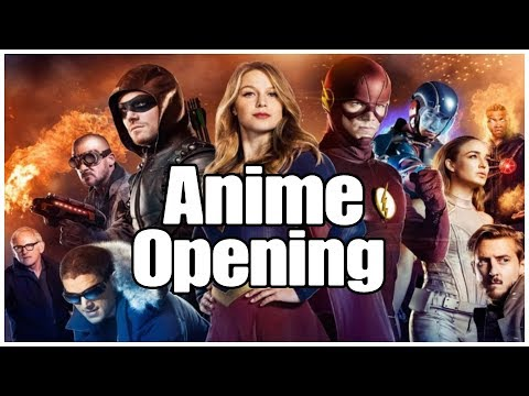 【MAD】Crisis on Earth X Anime Opening - Kakumei Dualism | The Flash | Arrow | Supergirl | Crossover