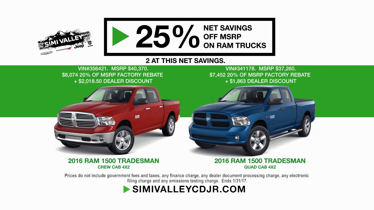 Simi Valley Jeep >> Start Something New Sales Event At Simi Valley Cdjr