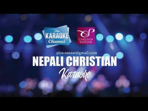 Nepali Christian Karaoke (TRACK) - Gau Gau Sahar Sahar ma