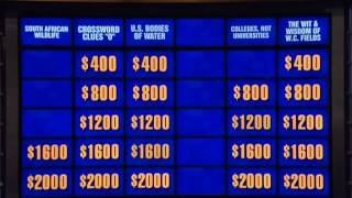 Double Jeopardy 04/22/2014