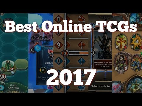 Top 5 Best Online TCGs To Play In 2017 / 2018