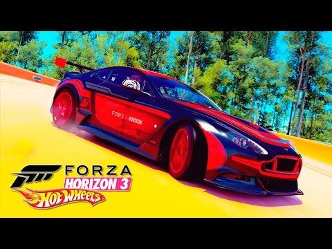 FORZA HORIZON 3 HOT WHEELS DLC #11 | ASTON MARTIN VANTAGE GT12 2016