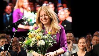 Slowakei: Caputova gewinnt Präsidentenwahl mit 58,4 Prozent der Stimmen