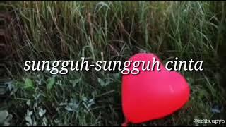 LIRIK LAGU ~ aku jatuh cinta (Regina cover)