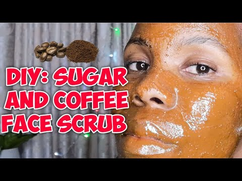 SUGAR AND COFFEE SCRUB | Exfoliate | Serame Ramx
