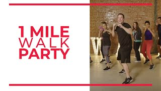 Week 6 Bonus Burn: 1 Mile WALK PARTY | Walk at Home