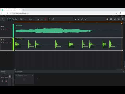 Hum & Beatz Note Detection in Amped Studio