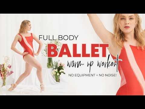 FULL BODY 30 MIN BALLET WORKOUT | No equipment, no noise with professional ballerina Lou Spichtig!