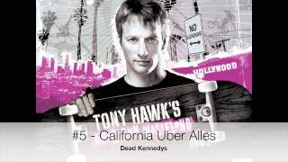 Top 10 Best Songs from Tony Hawk's Pro Skater Vol. 2 (THUG - THPG)