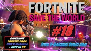 🔴 Balkan Fortnite Save The World #18 + GIVEAWAY 5$ Idemo Na V-BAKSUZE