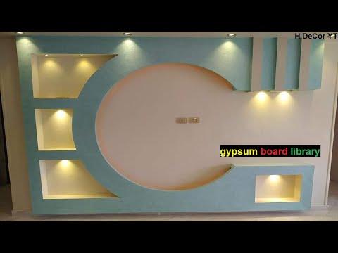 أحدث ديكور شاشات البلازما ديكور جبس بورد Youtube