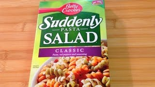 Suddenly Pasta Salad - Food Product Review
