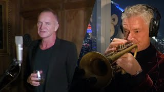 Смотреть клип Sting And Chris Botti - In The Wee Small Hours Of The Morning