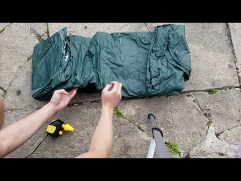 AUTO-VOX 12V DC Portable Electric Air Compressor Pump for Inflatables, Air Mattress Beds