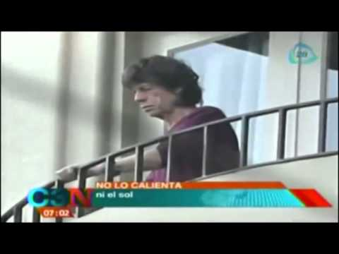 Mick Jagger reaparece tras la muerte de su novia L
