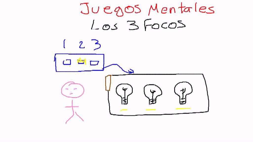 Juegos Mentales Los Tres Focos Youtube
