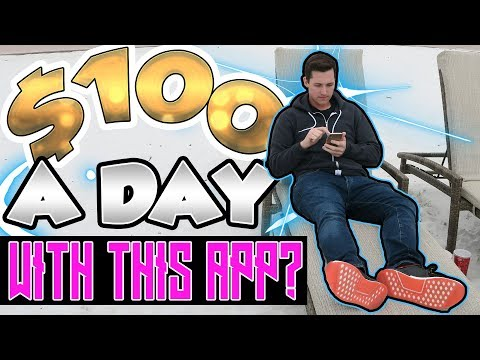 How To Make $100 A Day With Just One App! [SCARY SIMPLE]
