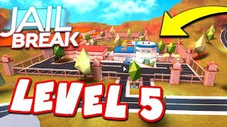LEVEL 5 SECURITY JAILBREAK PRISON *NO ESCAPING*