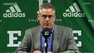 EMU Football Weekly Press Conference - Nov. 9, 2015