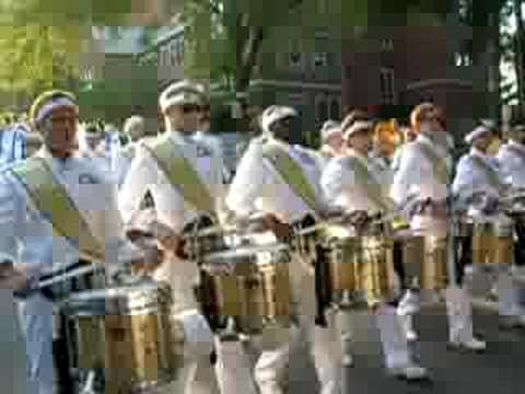 Georgia Tech Marching Band on the Way to Bobby Dodd Stadium