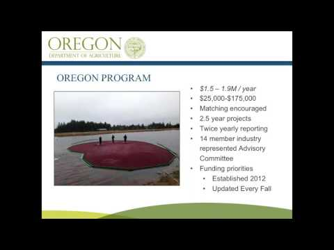 Overview of Oregon's 2018 Specialty Crop Block Grant and Farm to School/Institution Project Ideas