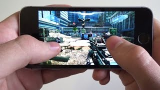 iPhone 5S iOS 10.0.2 gaming test (2017)